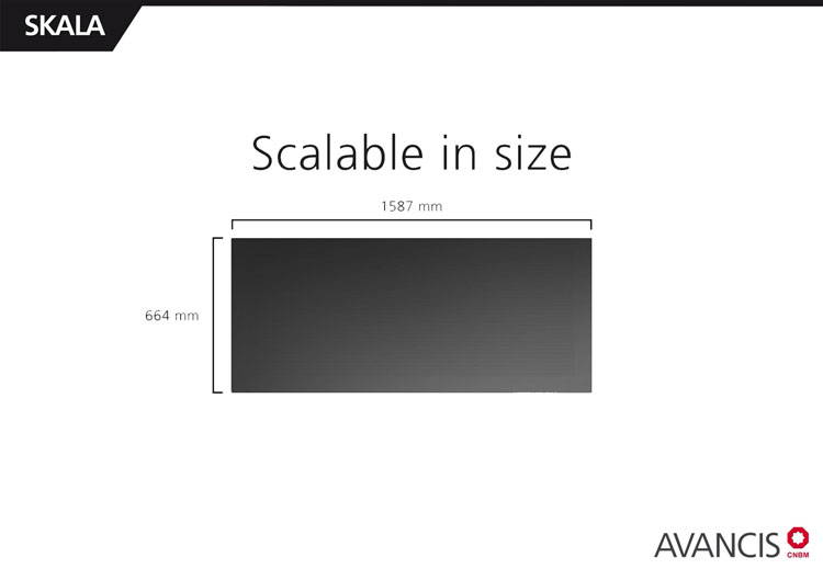 Scalability in size